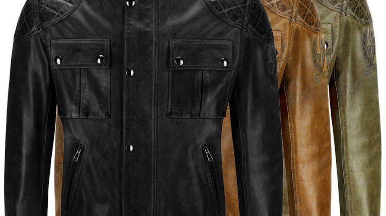 Belstaff Brooklands wax leather 41020003 all