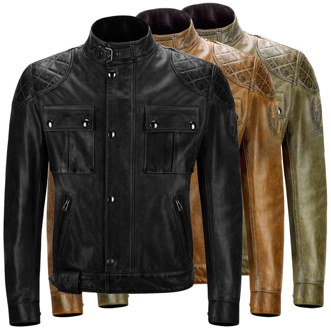 Belstaff Brooklands wax leather 41020003 all