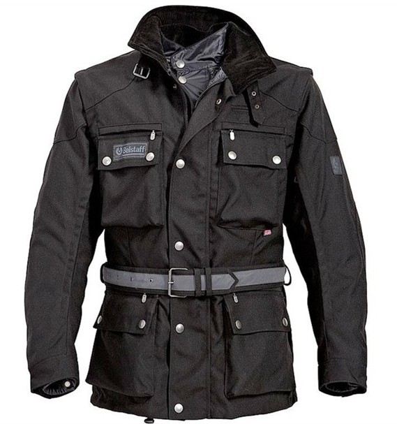Belstaff Long Way Down Giacche Schwarz 148700148_LRG